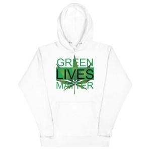 Green Lives Matter Hoodie