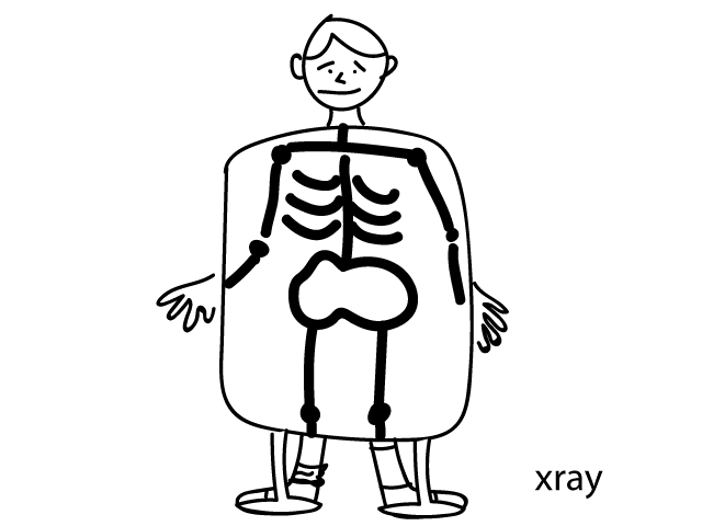 X is for. . . xray!