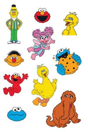 Sesame Street Sheet 2