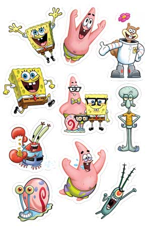 SpongeBob Sheet 2