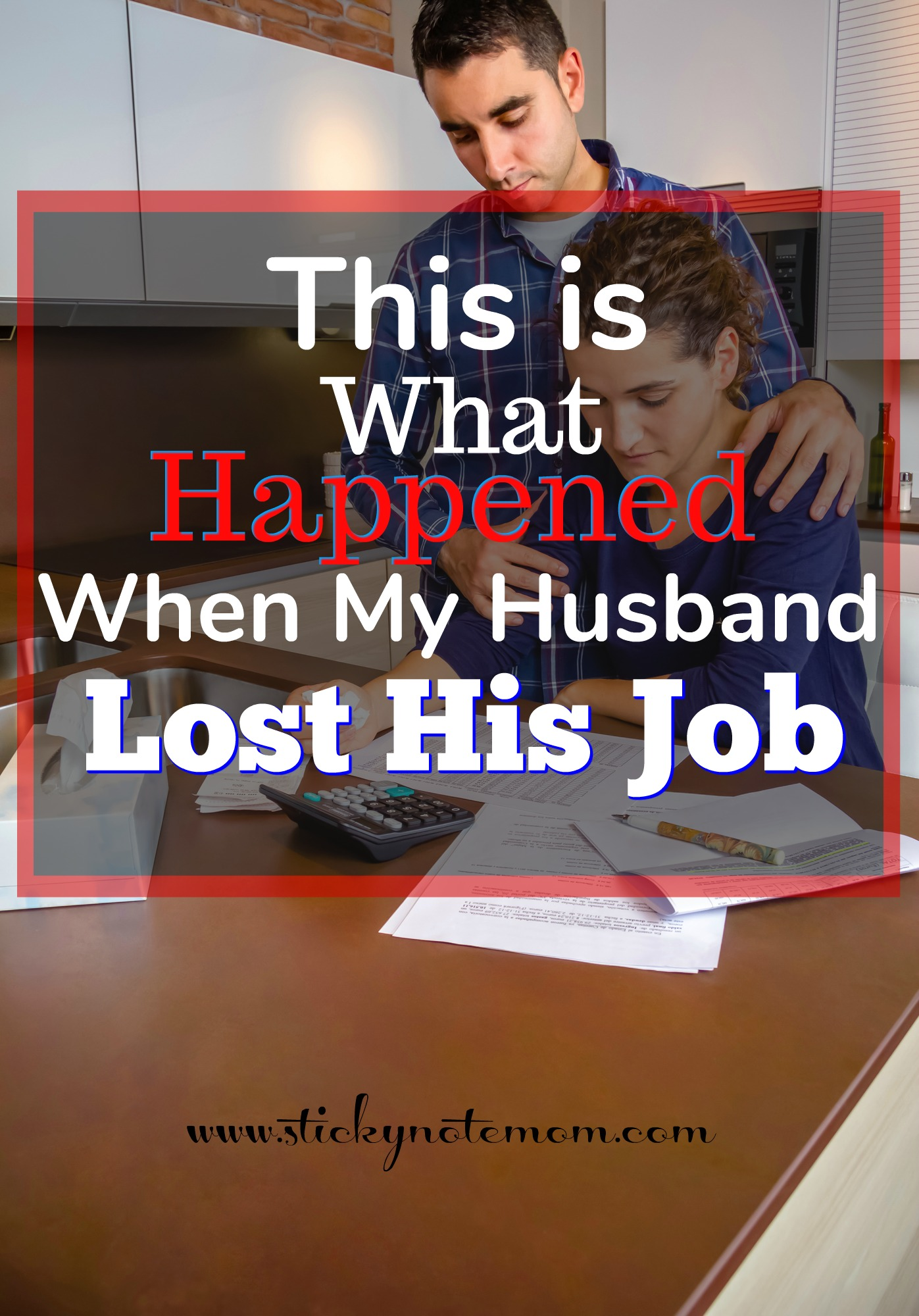 Job Loss is never expected. This is a brief recount of our experience. #jobloss #unemployment
