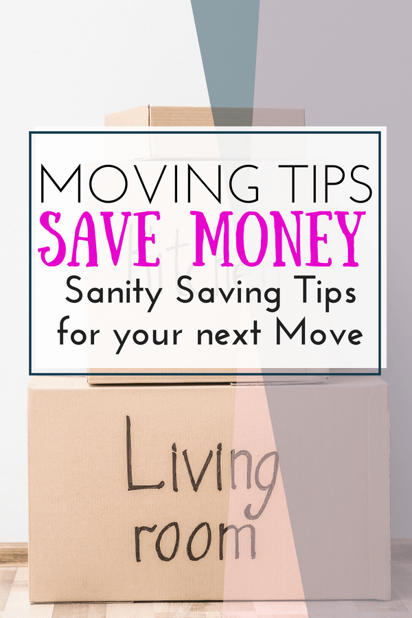 Moving is hard work! These Simple Moving Tips will help your next move and help you save your moving budget!