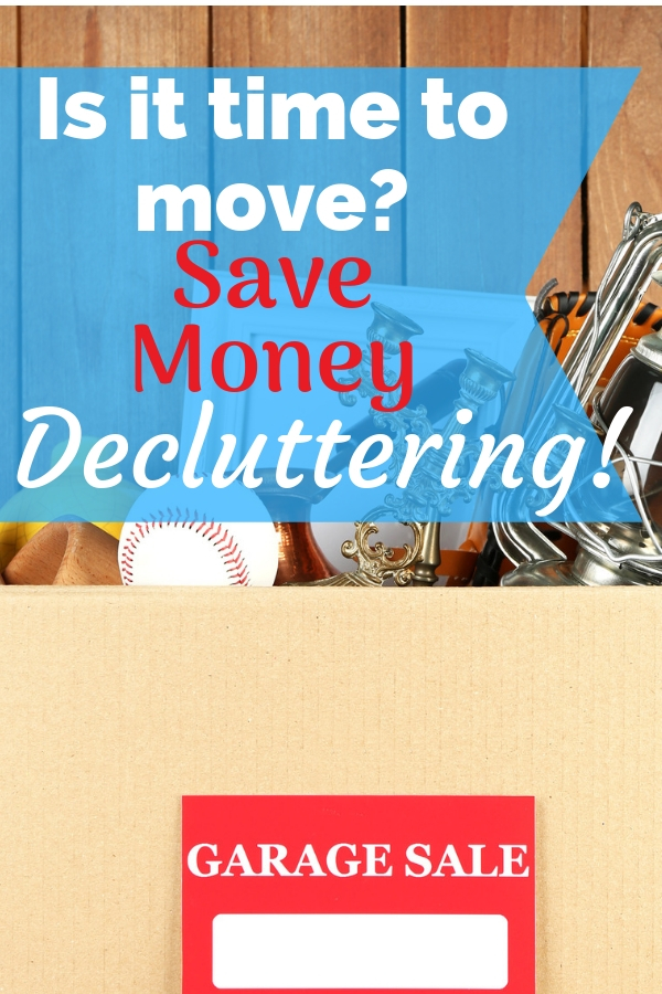 Are you planning a move? Start decluttering to save money moving. We saved thousands on our last move by decluttering our home and some printable labels for you!