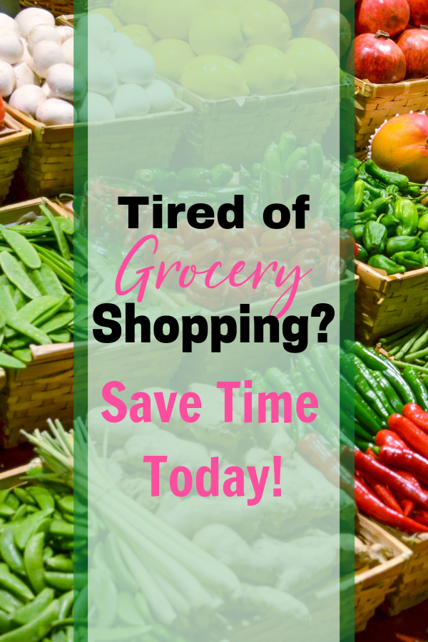 Meal planning and grocery shopping have become my least favorite part of the week. I decided to take control and save time grocery shopping with this awesome trick! #groceryshopping #mealplanning #savetime