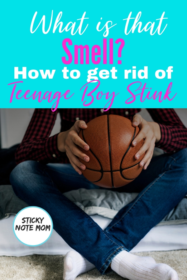 As my boys become teens they have a new sent to them. It makes their room smell. I had to figure out how to make it stop. #parentingtips #teenageboy