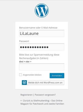 Registrierung LiLaLaune
