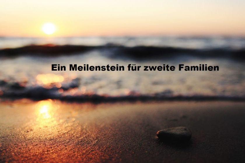 Meilenstein für zweite Familien