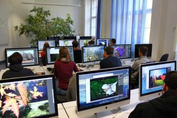 Einer der beiden PC-Räume