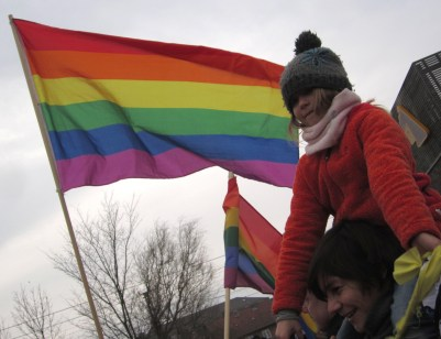 Demo against Ugandan Anti-homo Act