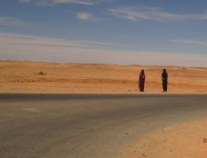 Roadside near Tindouf refugee camps