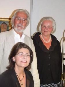 Martin u. Antje Schneider und Angela Stoll, Foto privat