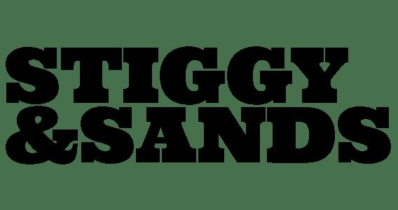 Stiggy & Sands dark logo