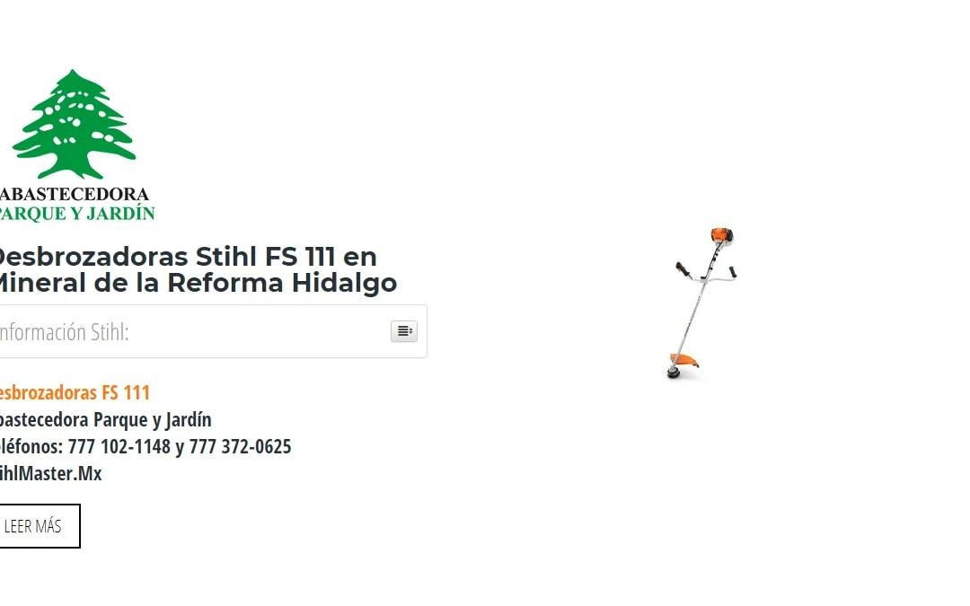 Desbrozadoras Stihl FS 111 en Mineral de la Reforma Hidalgo