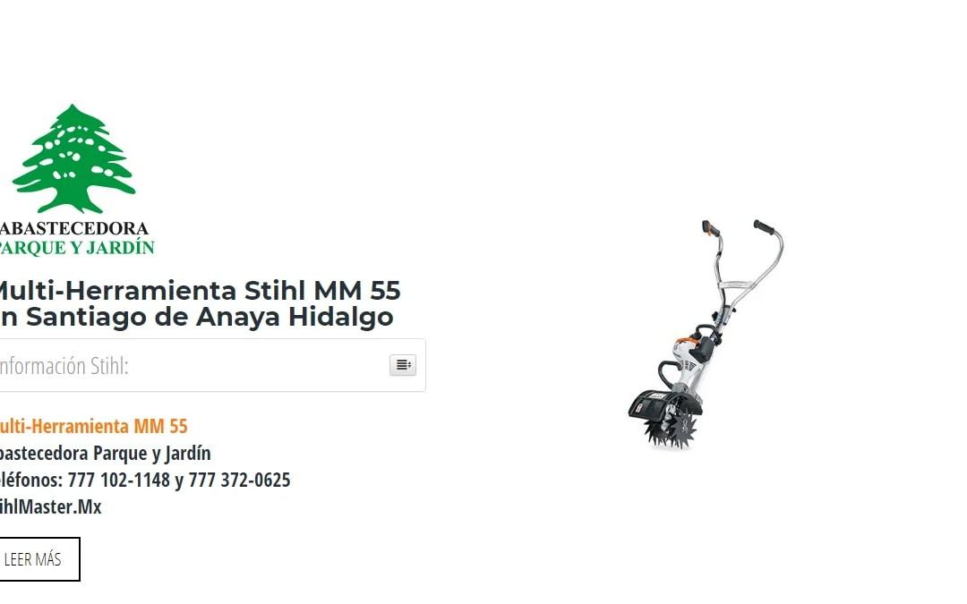 Multi-Herramienta Stihl MM 55 en Santiago de Anaya Hidalgo