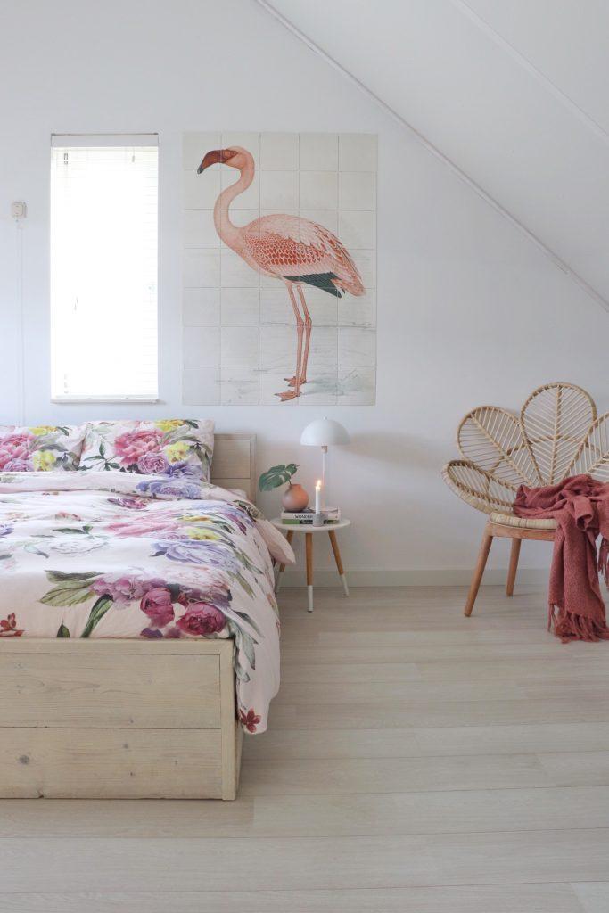 Cinderella Paeonia dekbedovertrek voor een lente gevoel in de slaapkamer