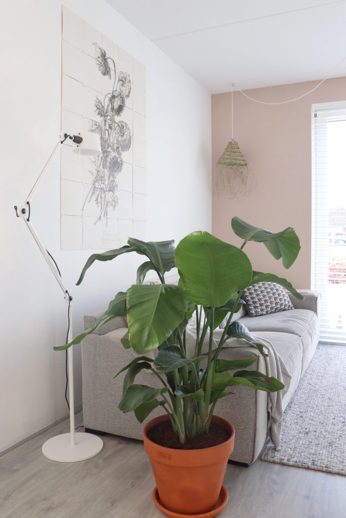 Tonone vloerlamp in de woonkamer