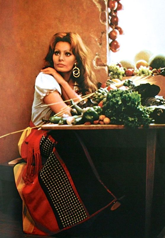 Image result for sophia loren cooking pictures