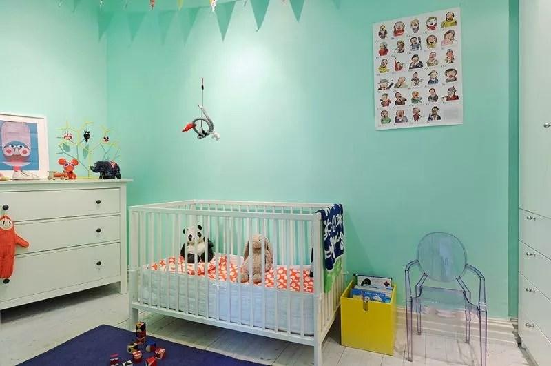 Onwijs Interieur & kids   Mintgroen - Babykamer/ Kinderkamer inspiratie BU-79
