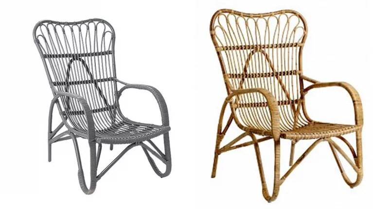 Interieur inspiratie rotan stoelen stijlvol styling for Stoelen voor buiten
