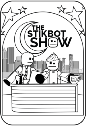Stikbot Coloring Books