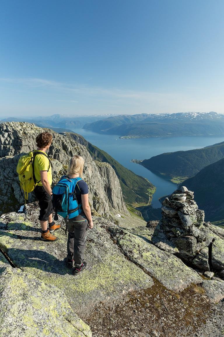 Utsikt over Sognefjorden
