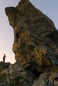 Lekamøya er en fjellformasjon og et gammelt sjømerke som det knytter seg et sagn til.