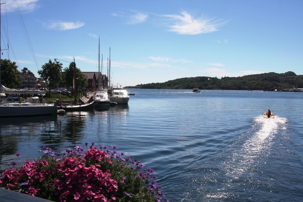 Farsund gjestehavn er en av landets beste.