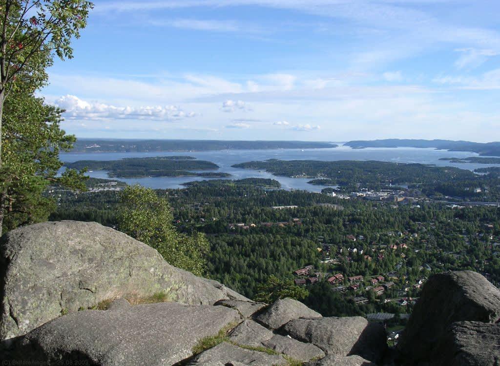 Utsikt Oslofjorden