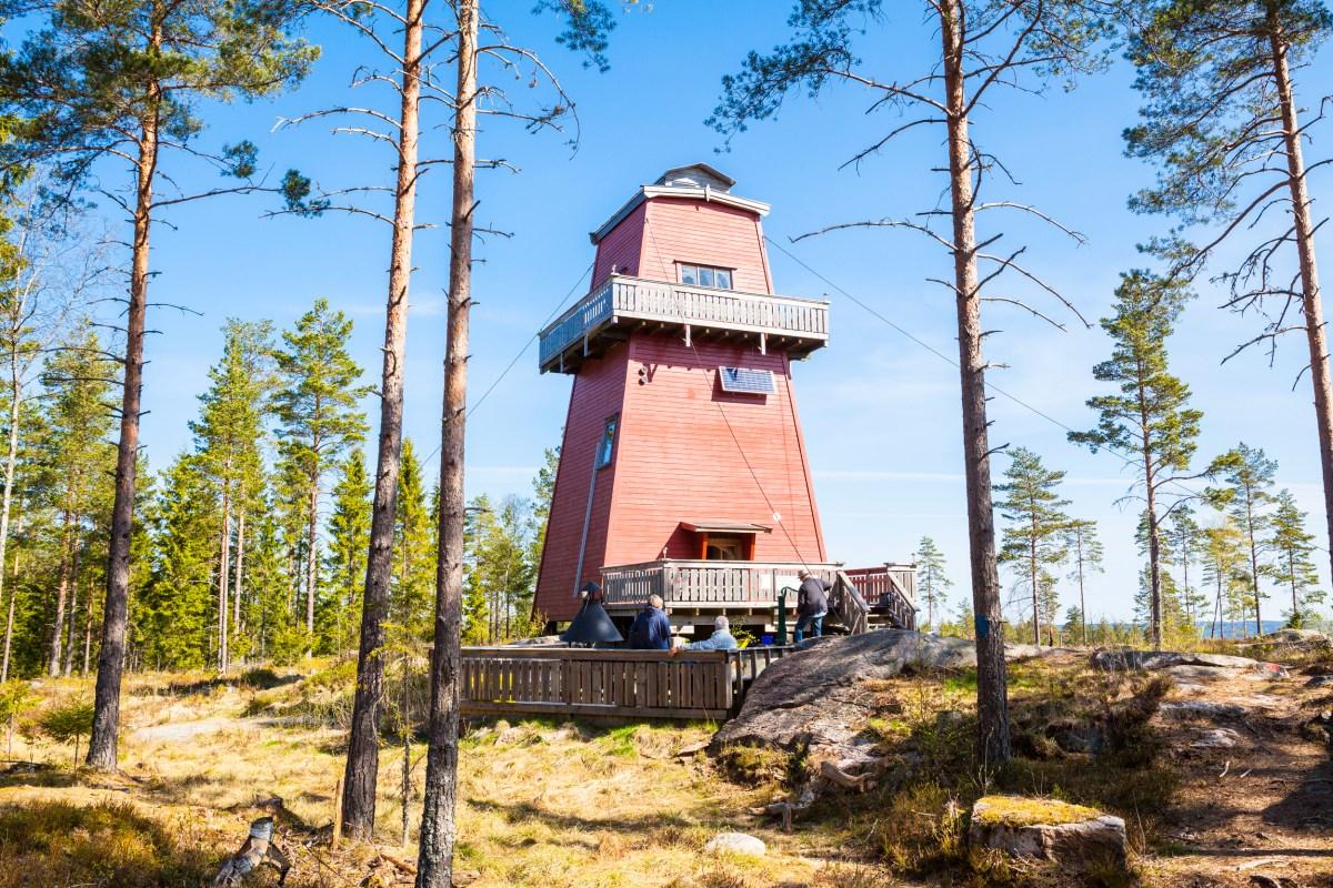 Tårn branntårn Østfold Rømskog