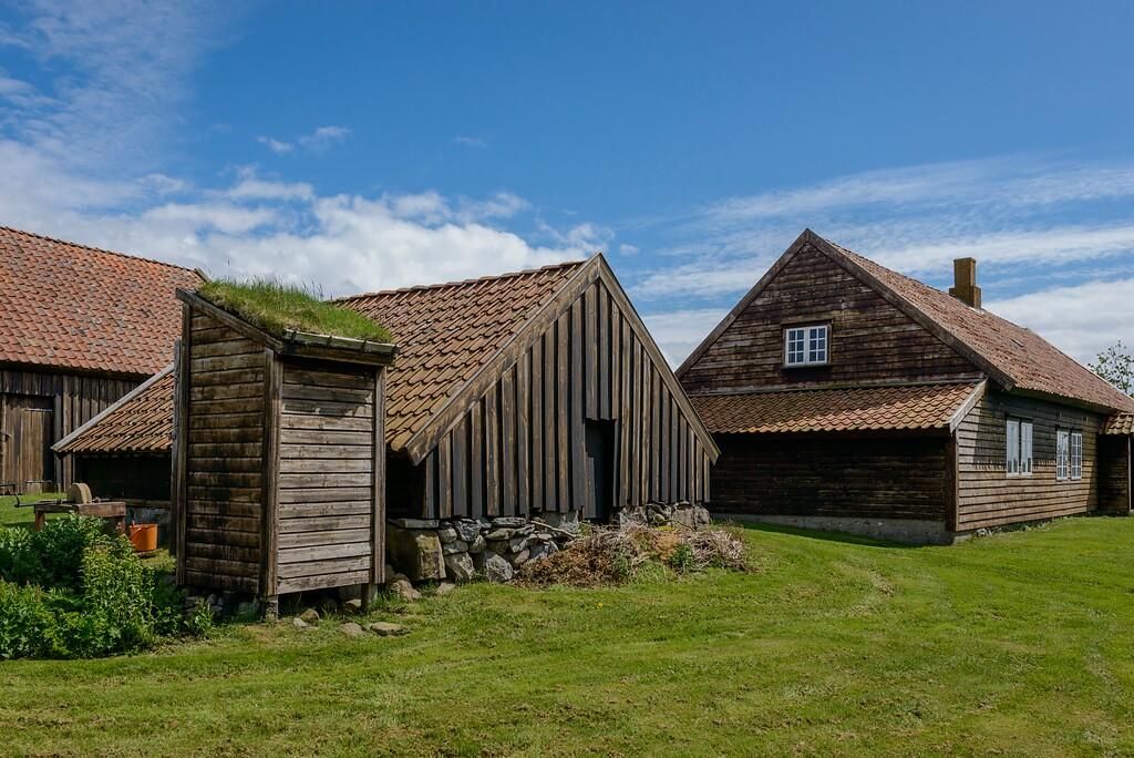 Gamle hus museum Hå Rogaland