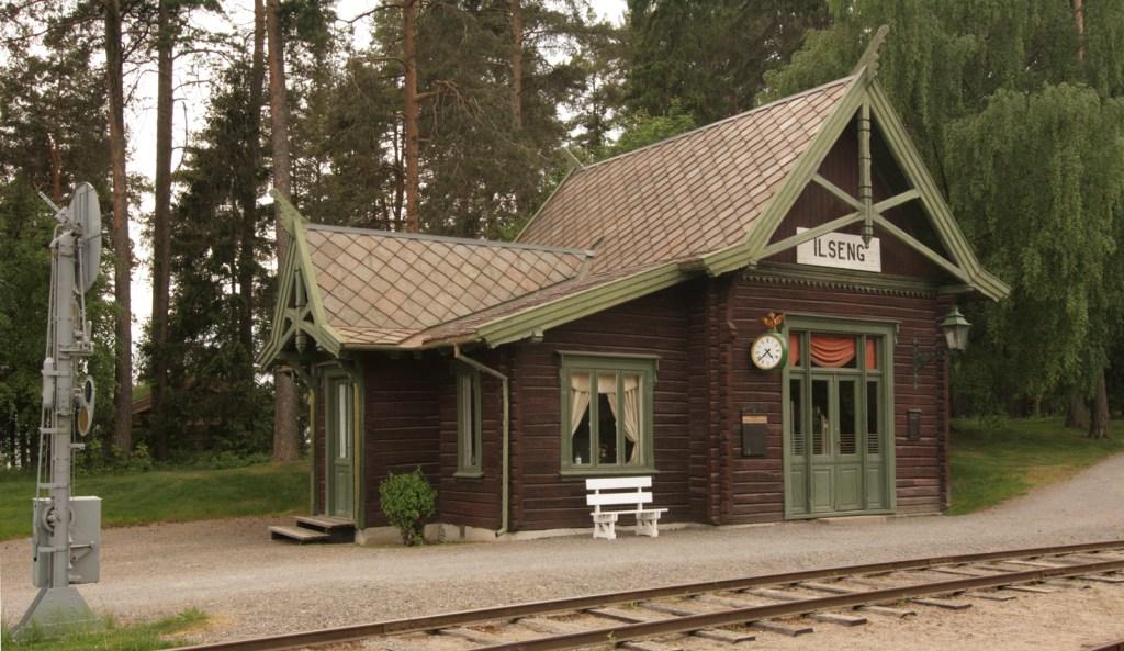Jernbanestasjon Ilseng museum Hamar