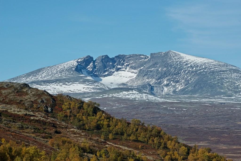 Snøhetta på Dovre massivt fjell