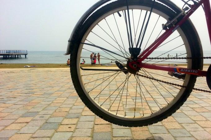 Obilazak Larnake biciklovima / VLOG / Explore Larnaca by bike