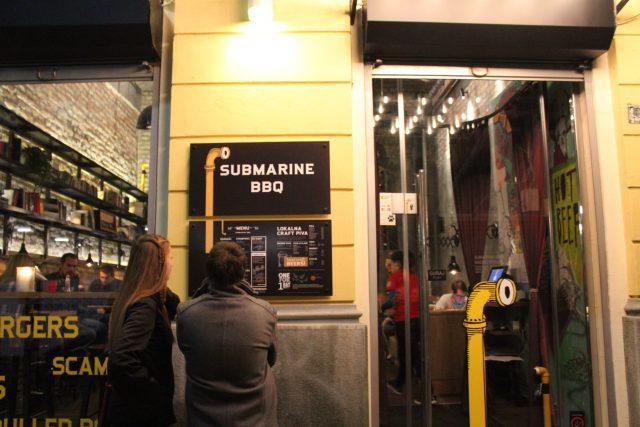 jedan dan u beogradu hrana submarine bbq