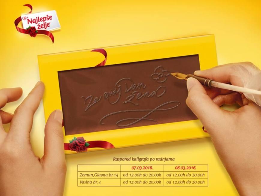 poklon 8. mart čokolada