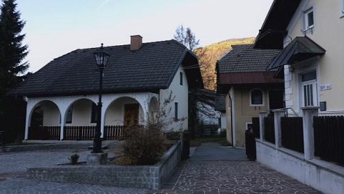 Centar grada Kranjska Gora