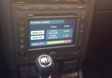 Aktuaalizace autorádia DENSO – Ford Mondeo