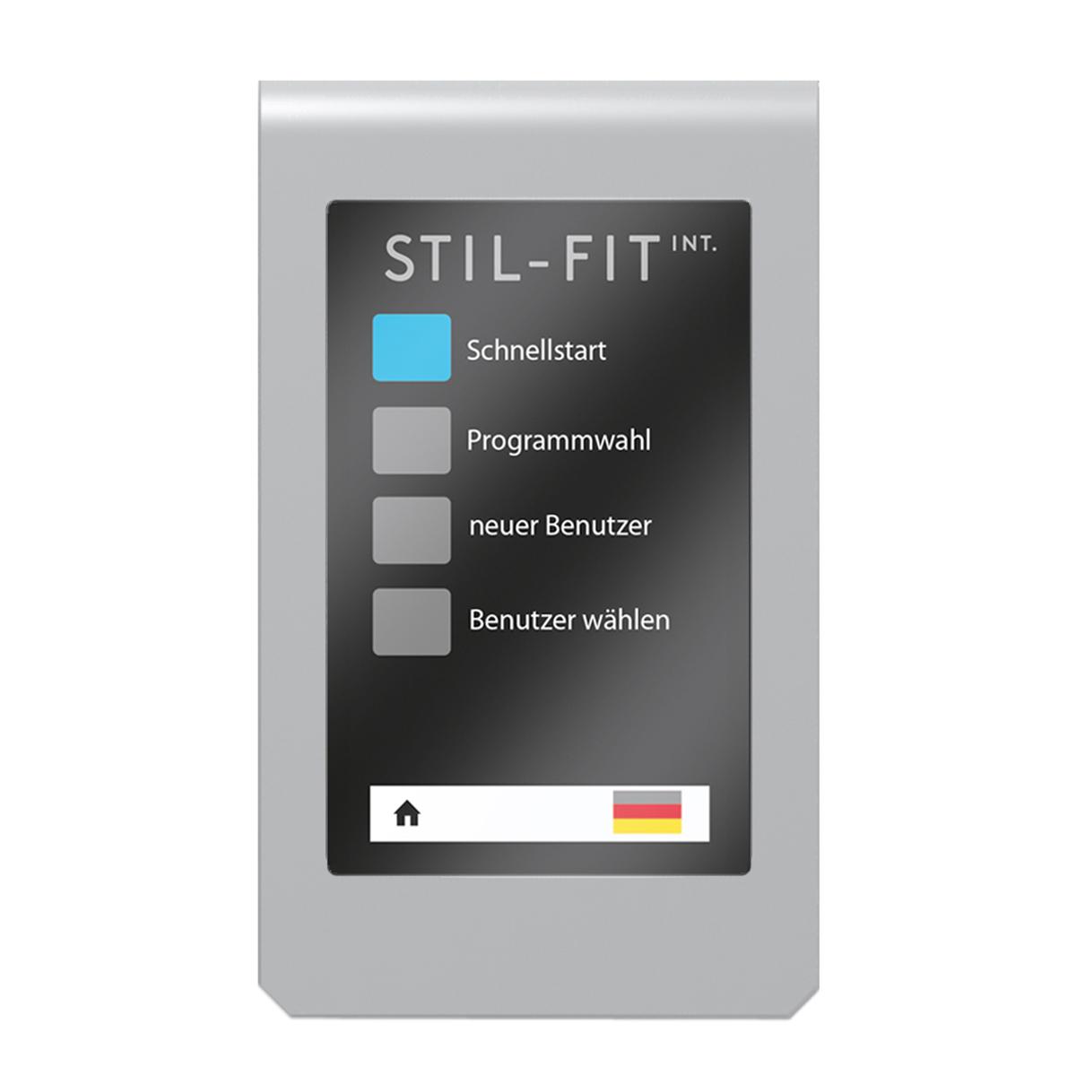 STIL-FIT Programmwahl Rudergerät SFR-015
