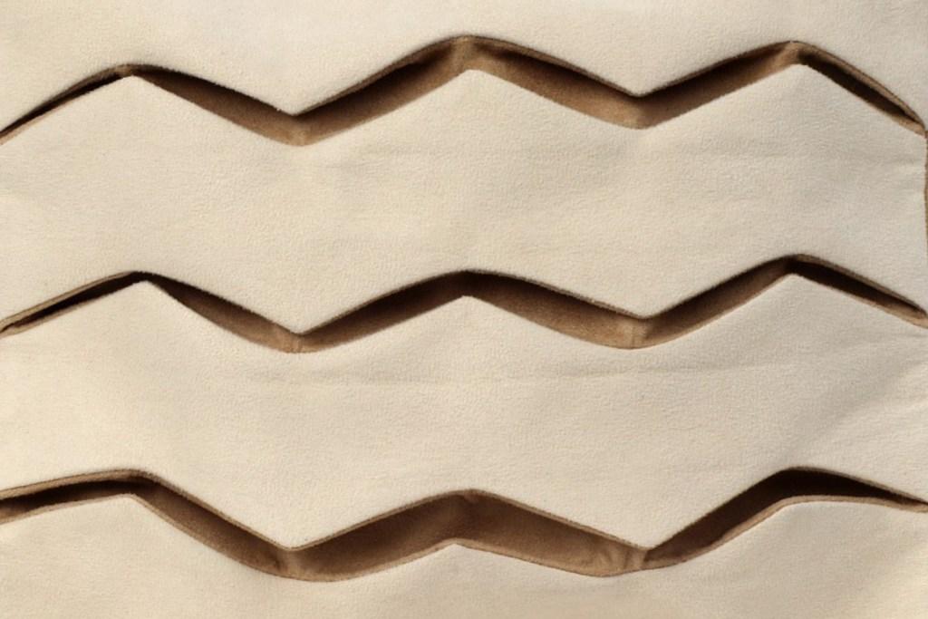 Stil-Stengel Textilkunst Tasche Detail