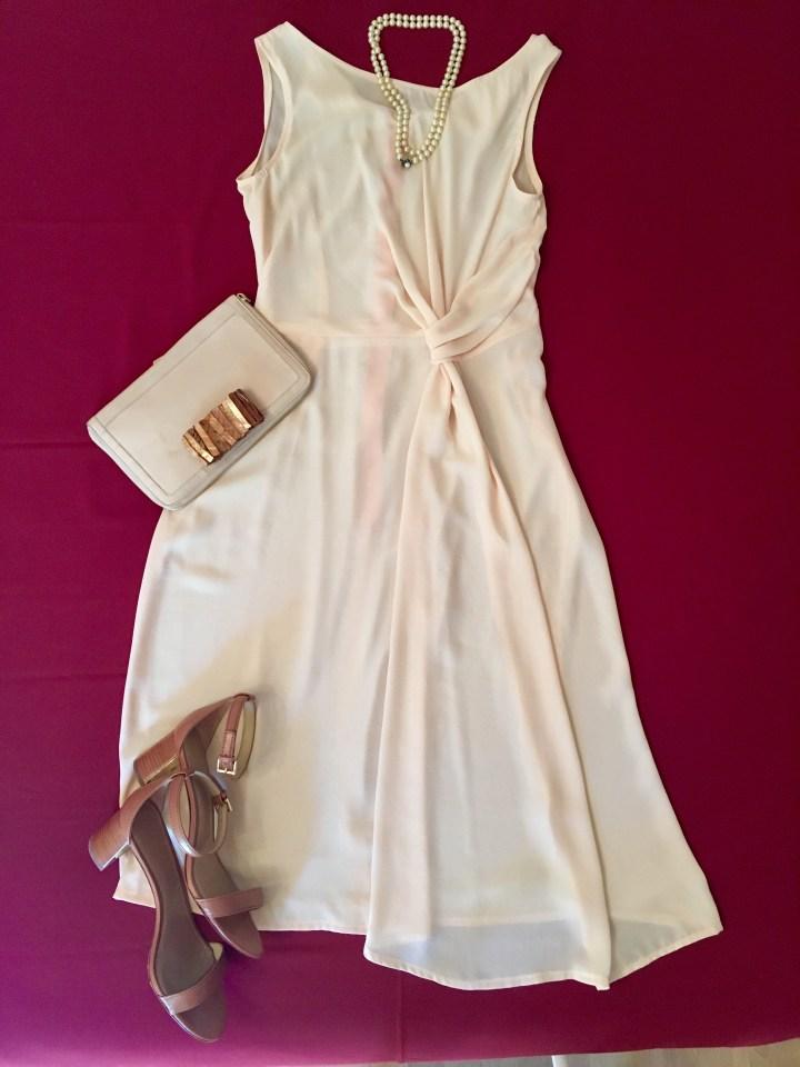 Sommerkleider kombinieren Seidenkleid