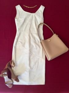 Sommerkleider kombinieren cremefarbenes kleid2