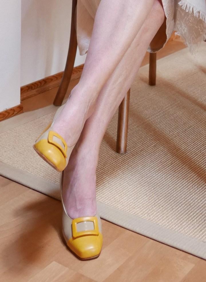 Schuhe nach Maß - Schuhe nur für mich Pumps gelb