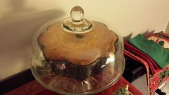 George, cake, egg nog, holidays, Christmas, baking, pan, Bundt, Nordic Ware, Williams-Sonoma