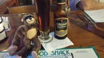 George, Christmas, holiday, travel, beach, Cortez Beach, Florida, beer, seafood