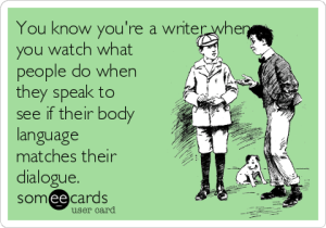 writing, meme, body language
