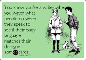 writing, meme, body language