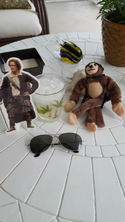 George, Pocket Jamie, vacation, Florida, S.A. Young