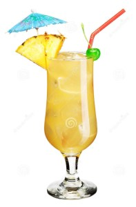 umbrella drink, vacation, writing life, S.A. Young