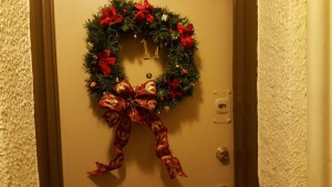 Christmas, Holidays, Monday, S. A. Young, wreath, Fraser