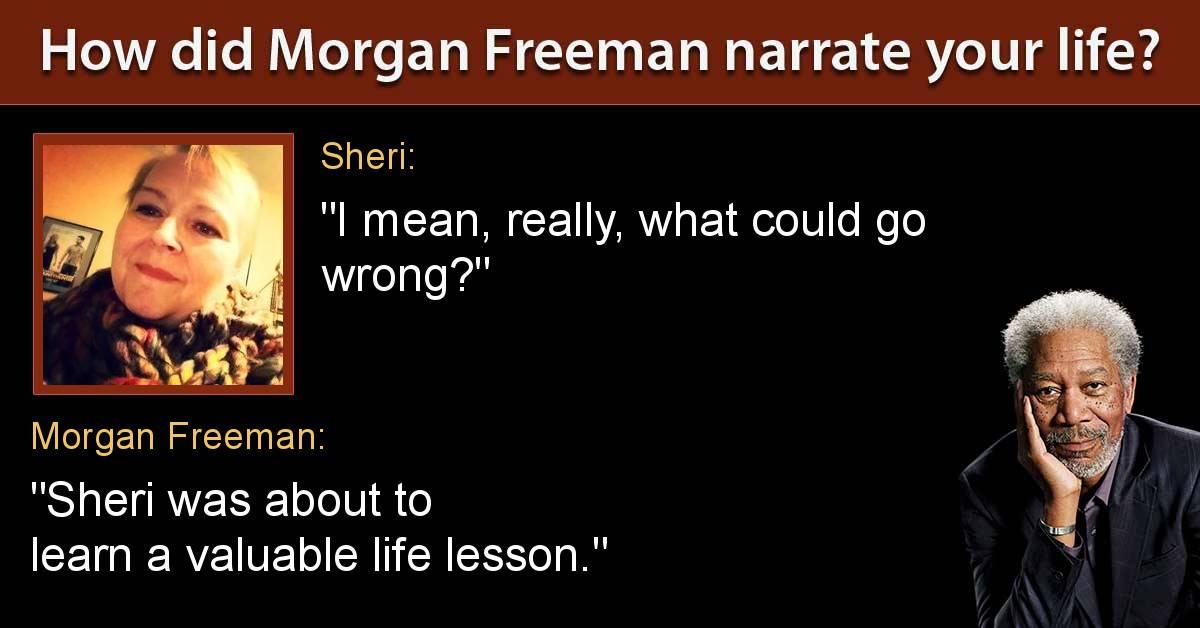 Monday, blogging, theme song, meme, facebook, Morgan Freeman, S.A. Young writer